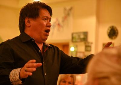 Opera et Cetera , Keith Ikaia-Purdy, im Weingut Kopp